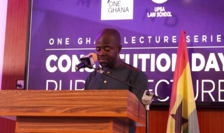 Dr Kofi Abotsi delivers maiden Constitution Day Lecture