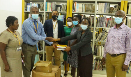 Media Foundation for West Africa donates books to Communication Studies Department | UPSA