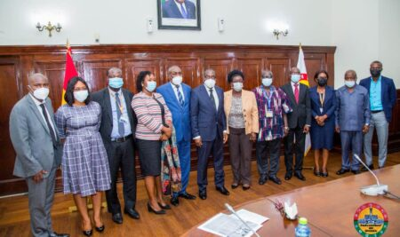 UPSA delegation calls on Speaker of Parliament to discuss new program for MPs and Parliamentary staff